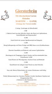 Martini Gansl